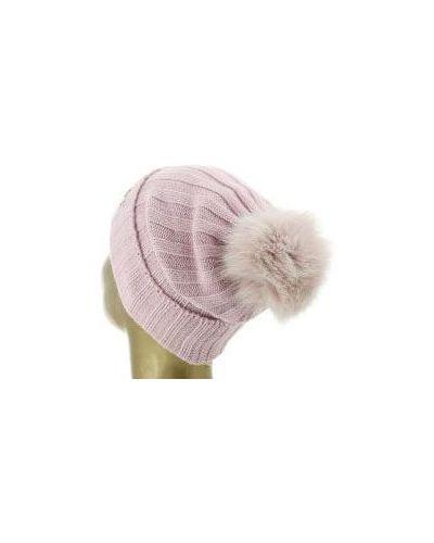 Розовая шапка шерстяная Blugirl