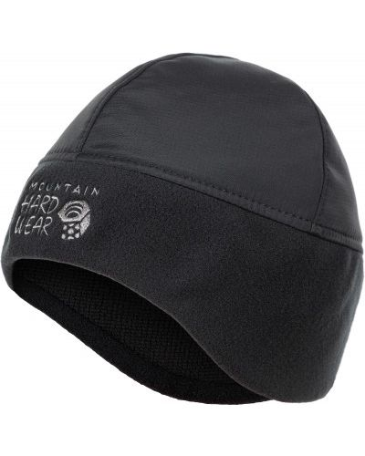 Шапка черная на флисе Mountain Hardwear
