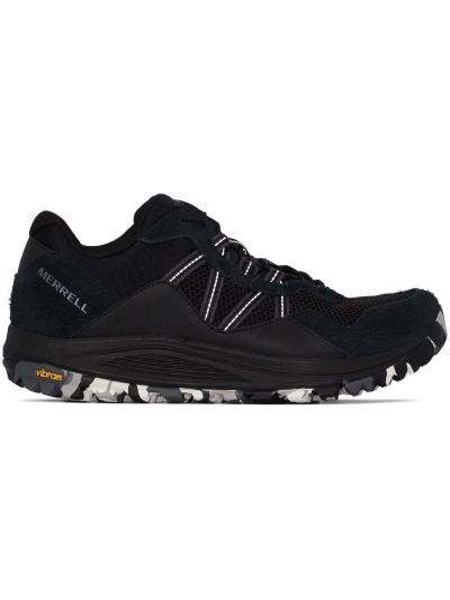Czarne sneakersy zamszowe Merrell