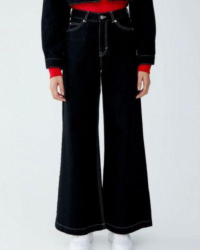 Расклешенные джинсы широкие Pull&bear