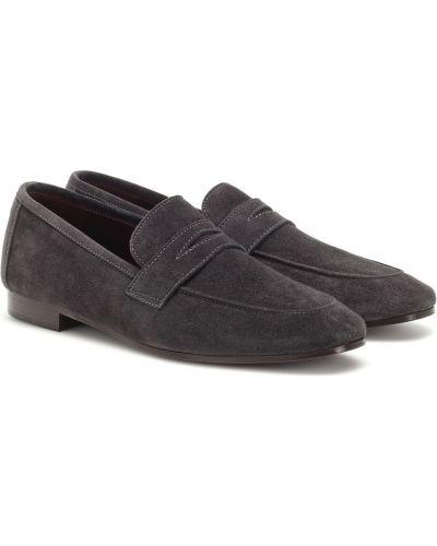 Loafers skorzane Bougeotte
