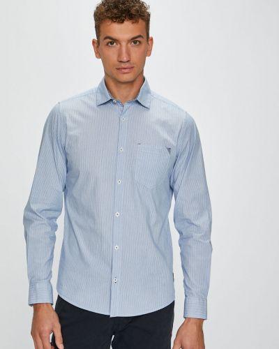 Рубашка с длинным рукавом в полоску хлопковая S.oliver