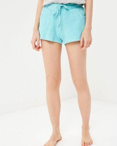 Бирюзовые брюки домашние Deseo