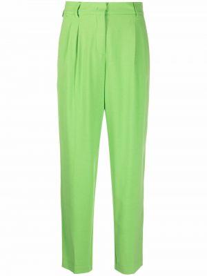 Zielone spodnie z paskiem Blanca Vita