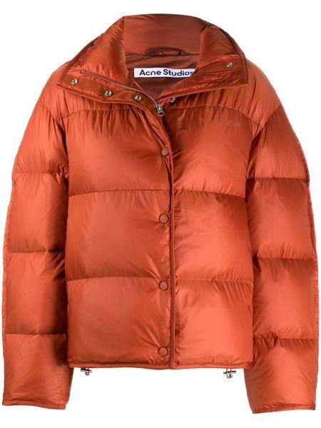 Длинная куртка - коричневая Acne Studios
