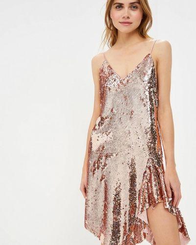 Вечернее платье осеннее розовый Imperial
