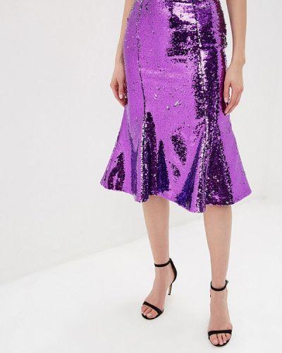 Юбка широкая фиолетовый Tutto Bene