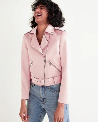 Куртка весенняя розовая Mango