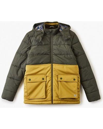 Куртка теплая зеленый S.oliver