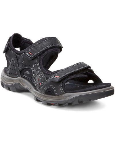 Спортивные сандалии черные для отдыха Ecco