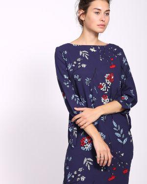 Платье оливковый синее S.oliver