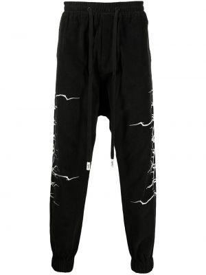 Черные спортивные спортивные брюки Haculla