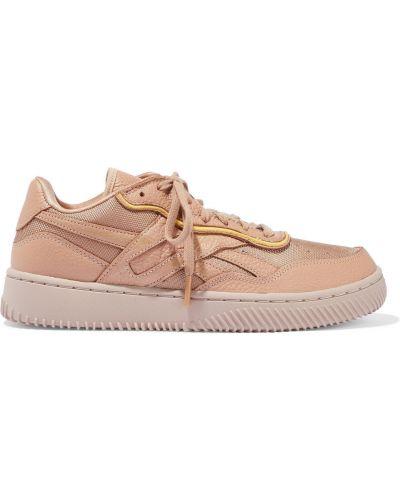 Кожаные кроссовки Reebok X Victoria Beckham