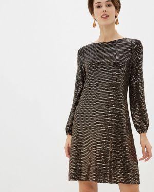 Вечернее платье осеннее золотой Wallis