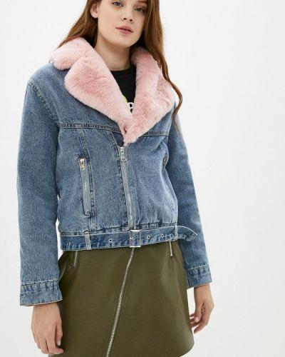 Красная джинсовая куртка Elsi