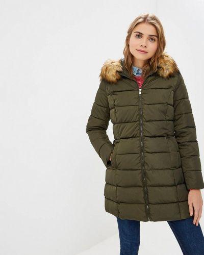 Утепленная куртка - зеленая Bruebeck