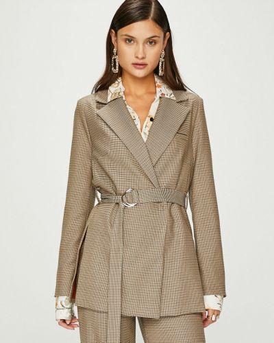 Классический пиджак с поясом прямой Answear