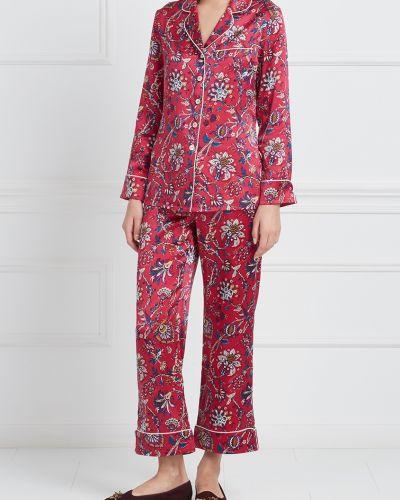 Пижама с брюками шелковая пижамный Olivia Von Halle