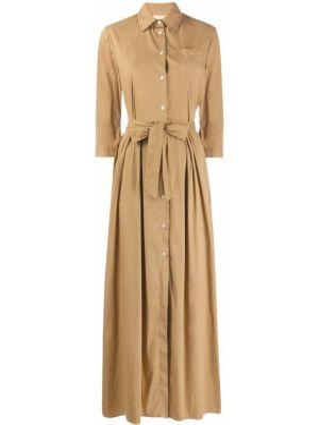 Платье на пуговицах классическое Semicouture