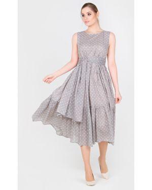 Летнее платье миди батистовое Filigrana
