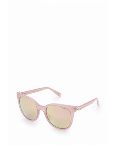 Розовые солнцезащитные очки Polaroid