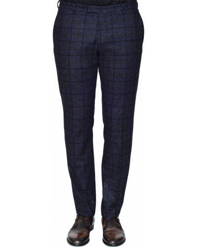 Шерстяные брюки - синие Joop!