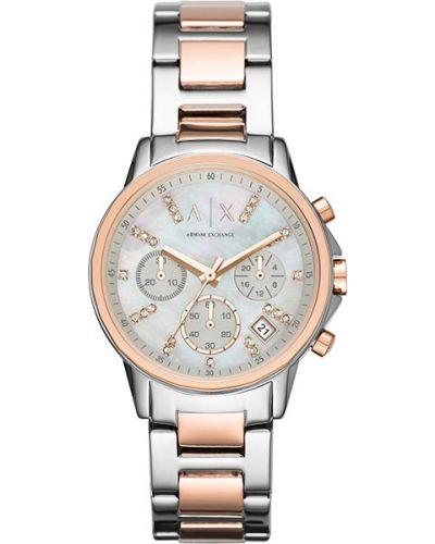 Часы - белые Armani Exchange