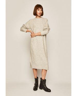 Sukienka mini z długim rękawem codzienna Medicine