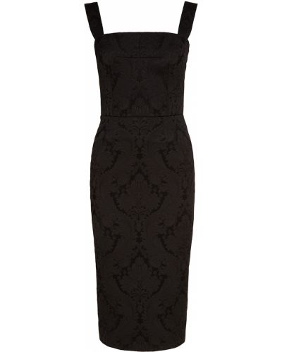 Черное платье футляр Dolce&gabbana