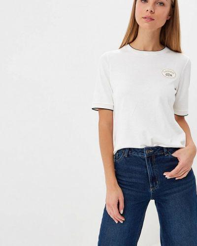 Белая футболка 2019 Lacoste