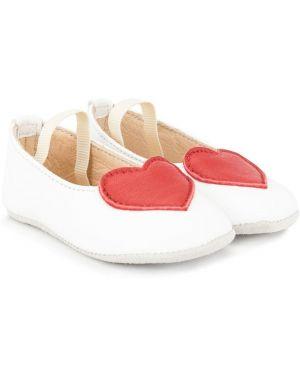 Белые балетки Sonatina Kids