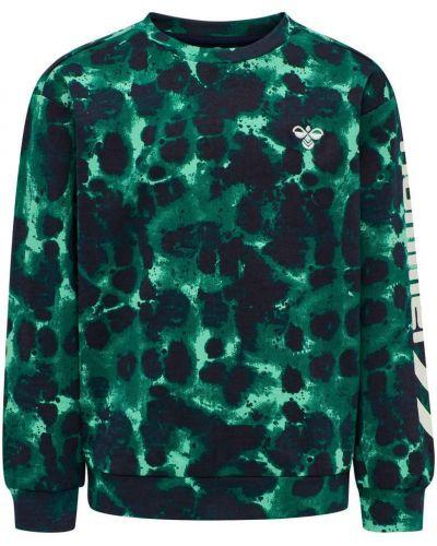 Zielona bluza dresowa Hummel