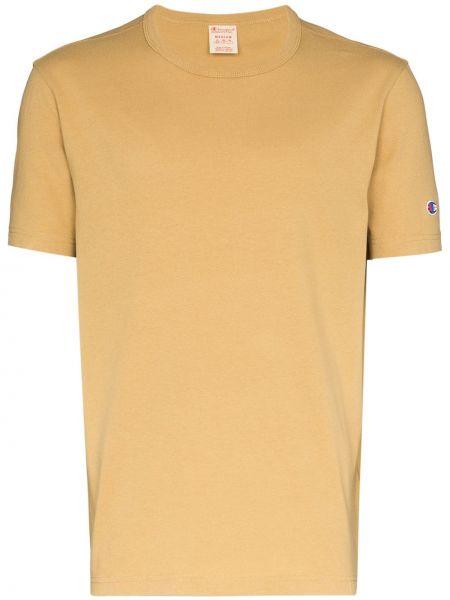 Koszula krótkie z krótkim rękawem z logo prosto Champion