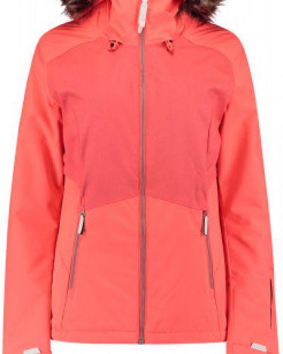 Утепленная красная куртка на молнии O`neill