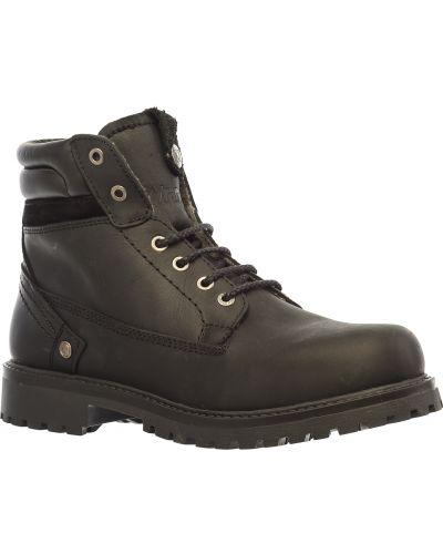 Ботинки из нубука Wrangler