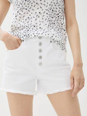 Белые джинсовые шорты Gap