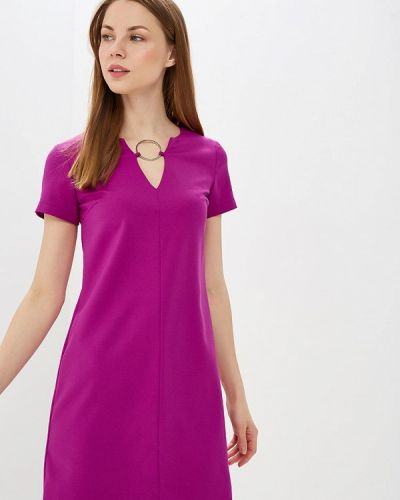 Платье прямое фиолетовый Vittoria Vicci