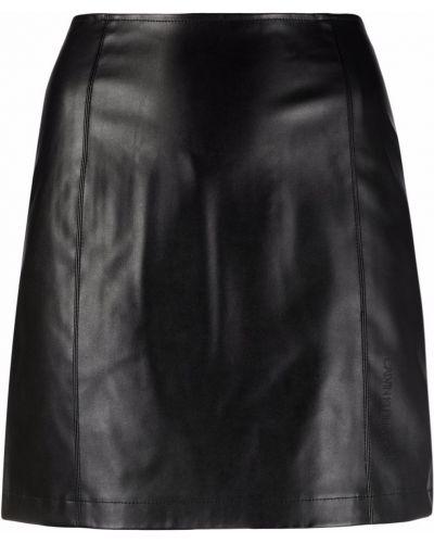 Черная юбка из полиэстера Calvin Klein Jeans