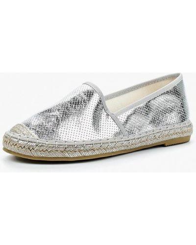 Эспадрильи серебряного цвета Vera Blum
