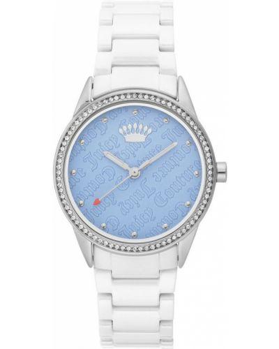 Zegarek mechaniczny - biały Juicy Couture