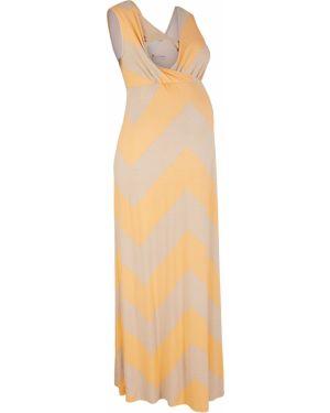 Платье для беременных макси платье-поло Bonprix
