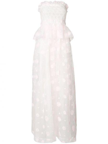 Вечернее белое вечернее платье Si-jay