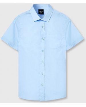 Рубашка на пуговицах из поплина Ostin