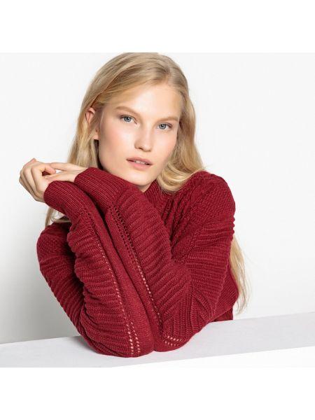 Пуловер с воротником-стойкой шерстяной Pepe Jeans