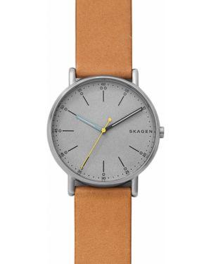 Zegarek srebrny łączny Skagen