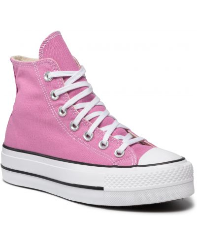 Trampki - różowe Converse