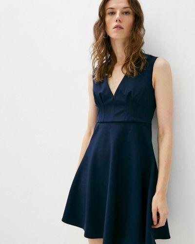 Джинсовое платье - синее Trussardi Jeans
