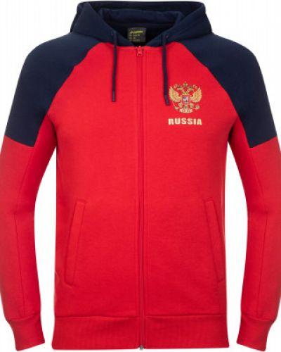 Красная спортивная кофта Demix