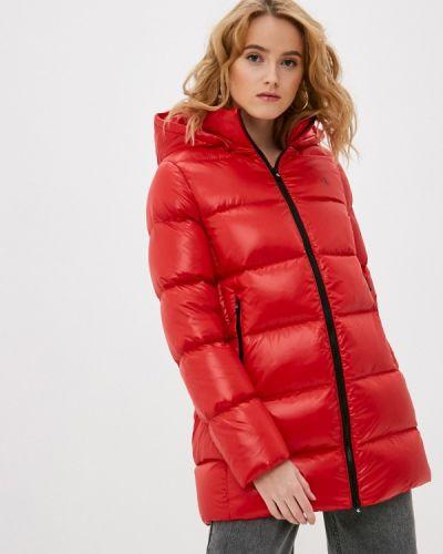 Утепленная красная куртка Calvin Klein Jeans