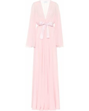 Платье розовое из органзы Giambattista Valli